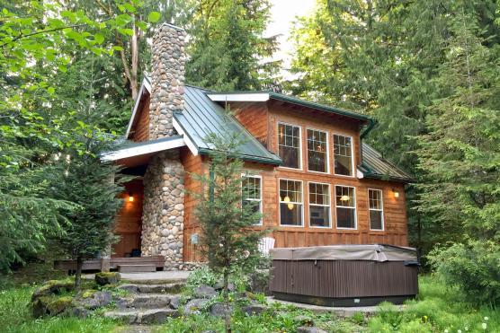 cabin in Glacier